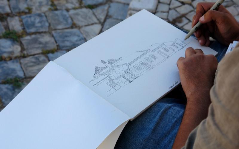 desenho de Filipe Coelho
