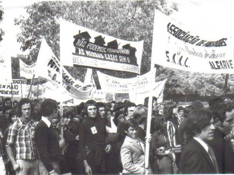 """""""Manifestação em Lisboa"""" - Foto gentilmente cedida por Aurélia Mártires"""