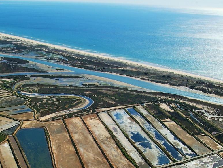 """Seminário """"Paisagens Culturais e Dieta Mediterrânica"""" - imagem: Ria Formosa"""